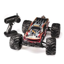 Wholesale rc car high quality - Brand New 2017 High Quality JLB 2.4G Racing CHEETAH 1 10 Brushless RC Remote Control Car Monster Buggy Big Foot Trucks 11101 RTR