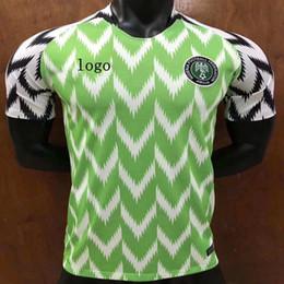 0bab0fe989a8 2018 Нигерия Джерси мира кубок верхнее качество новый стиль горячих продаж  футбольный костюм Футбольная форма Микель Джон Оби Нигерия покупка веселье