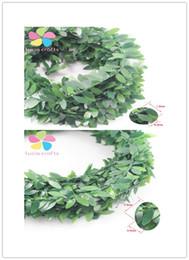 2019 grinalda com fio 7m / lot DIY Plástico + Fio De Ferro 1.5 * 0.5CM / 1.8 * 0.8cm Deixa Guirlanda Floral Videira Arranjo 027033018 desconto grinalda com fio