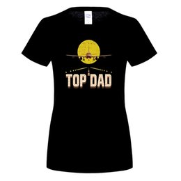 Wholesale Airplane T - 2018 Newest Letter Print Novelty T Shirts Men's Brand Clothing Top Dad For Fathers Day Airplane Pilot Custom Printed Tees