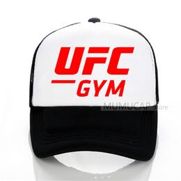 Sports d'été Russe Casquette De Baseball UFC De La Mode Hommes Femmes maille casquette de camionneur Lettre Bones Snapback Chapeaux ? partir de fabricateur