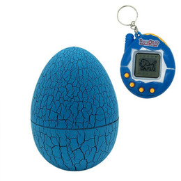 Wholesale pet dogs games - Educational toys Multi-colors Dinosaur egg Virtual Cyber Digital Pet Tamagotchis Digital Electronic E-Pet Game Toy