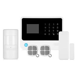 Systèmes d'alarme de sécurité câblés en Ligne-GS - G90B Plus GSM WiFi / GPRS / SMS 2,5 pouces Système d'alarme tactile clavier de sécurité à domicile