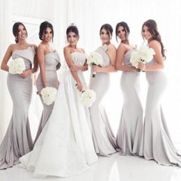 Pastel Orange Bridesmaid Dresses