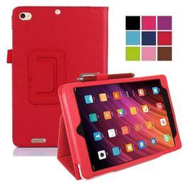 Argentina Smart stand PU cubierta de la tableta de cuero para Xiaomi 7.9 Mi Pad 2 Mi pad 3 Flip Case para Mipad 2 Mipad 3 Shell protector de la piel + regalo cheap xiaomi mipad 7.9 Suministro