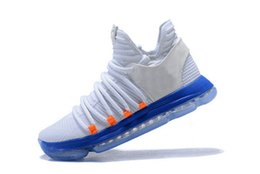 Wholesale Kd Shoes Low - Kevin Durant X 10 Elite Basketball Shoes VII EP KD 7 mens Athletic KD Sports Sneakers
