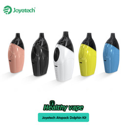 Wholesale Innovative Styles - Joyetech Atopack Dolphin Starter Kit All-in-one Style With 2.0ml   6.0ml Cartridge Capacity Innovative JVIC coil system 100% Original
