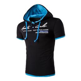 v collar t shirt design Promo Codes - New Male Leisure Brand t-shirt Summer da43a0ac1