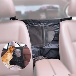 Wholesale Pet Dog Gates - Dog Car Barriers Universal Pet Dog Durable Mesh Gate Protector Car Pet Supplies