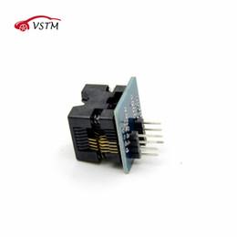 connecteurs plongeurs Promotion SOIC8 SOP8 à DIP8 EZ convertisseur de module de convertisseur de sortie adaptateur de puissance de sortie avec 150mil connecteur SOIC 8 SOP 8 à DIP