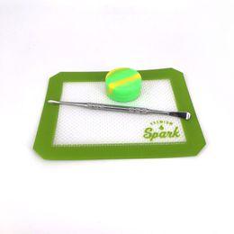 Квадратный силиконовый коврик для выпечки онлайн-Силиконовые восковые подушки квадратные сухие травяные маты 12,7 * 10,3 см или 6,5 см * 6 выпечки ковриков для ванных комнат с бумажной тарой