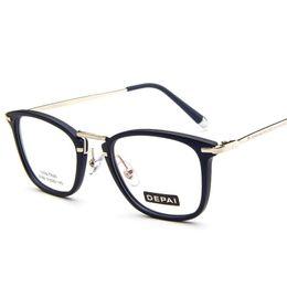04a755673b Wholesale- 2017 Vintage Fashion Eyewear Frames Women Men Eye Glasses Frames  Optical myopia Female Ladies Spectacle Frame Eyeglass kly9082