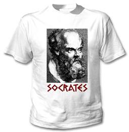 2019 vêtements grecs SOCRATES GREEK PHILOSOPHER - NOUVEAU T-shirt camiseta de vêtements en coton blanc vêtements grecs pas cher