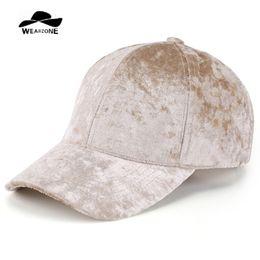 d42025a5441 2017 Wearzone Spring Winter Velvet Baseball Cap Women Casequtte Gorras  Snapback Men Bone Pure Caps Flat Hats Drake 6 Panel CAP