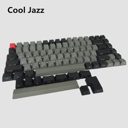 Wholesale Oem Cooler - Cool Jazz Thick pbt 84 side printed Keycap High wear resistance For OEM Profile Cherry MX Switches Wired USB Mechanical Keyboard