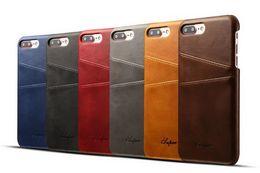 Canada BYL BW05 Combinaison de protection de la collection de cartes de protection du derme en cuir pour iphone8 avec une coque anti-chute de carte derrière la coque Offre