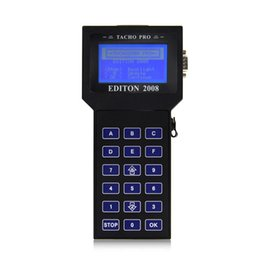 Wholesale Car Pro Tool - Tacho Pro 2008 Auto Programmer Odometer Correction Mileage Adjustment Unlock EEPROM Programming Scan Tool for Multi-Cars