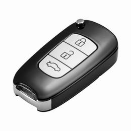 Fotocamera catene chiave online-Nuovo A12 Full HD 1080P Videocamera chiave per auto Metail Custodia portachiavi Mini fotocamera Videocamera digitale DV per sport all'aperto
