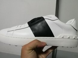 Wholesale Leather Lace For Sale - wholesale cheap men women luxury designer sneakers open shoes with top quality 9 colors original box size 34-46 for sale