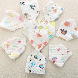 2019 bandana tierdruck hochwertige schöne Baby druckknöpfe baumwolle baby fütterung säuglingslätzchen Animal Print baby bandana Print lätzchen T5I061 günstig bandana tierdruck