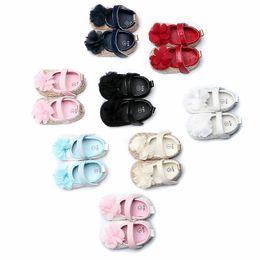 9d9407dd875f6 Chaussures bébé filles Chaussures antidérapantes princesse Trendy First  Walkers Pattern Baby Semelle souple First Walker 0-12m