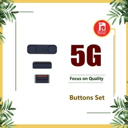 Wholesale Volume Settings - 3 in 1 Side Button Set Lock Power Key Switch ON Buttons   OFF + Mute Switch Button Key + Volume Key For iPhone 5 Replacement