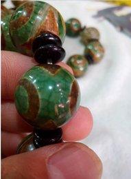 2019 pedras de jade vermelhas soltas China Natural 20mm Tianzhu Jade Beads Frete Grátis B3