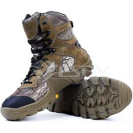 Camouflage Desert Bottes Tactiques En Cuir Véritable Pour Homme EVA Combat Boot En Plein Air Bottes D'alpinisme Haut Talon Chaussures De Travail Imperméable À L'eau ? partir de fabricateur