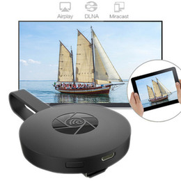 Wholesale Wifi Display Dongle Receiver - G2 Wireless WiFi Display Dongle Receiver 1080P HD TV Stick Airplay Miracast Media Streamer Adapter Media for Google Chromecast 2.