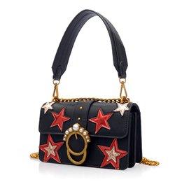 Wholesale Leather Satchels Cheap - 2017 hot sale handbag satchel purse lady clutch bag chain brand famous shoulder cheap even designer handbag free ship