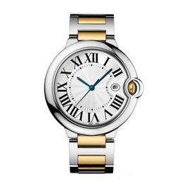 Relojes de acero inoxidable mujeres online-Moda dama reloj de cuarzo elegante vestido de las mujeres Relogio famosa venta caliente oro rosa acero inoxidable relojes de pulsera de oro