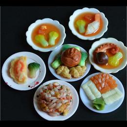 2019 pc miniatura 33 Pz / set Cucina Mini stoviglie Miniature Cup Piatto piatto Decor Giocattoli per bambini Ragazze Regali Accessori bambola all'ingrosso pc miniatura economici