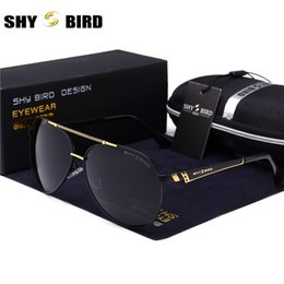 alloys list Coupons - New listing SHYBIRD pilot brand retro men sunglasses men's   women's sunglasses fashion glasses 8083