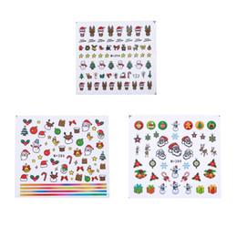 1 Feuille De Noël Thème Nail Art Stickers D'eau Bonbons Gâteau Coloré Enfants Impression BRICOLAGE Beauté Autocollant Nail Décorations Conseils ? partir de fabricateur