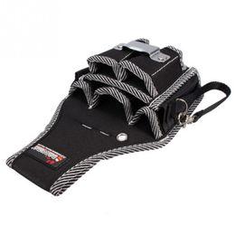 Gebrauchsgurte online-9in1 Elektriker Taille Tasche Werkzeug Gürteltasche Tasche Schraubendreher Utility Kit Halter