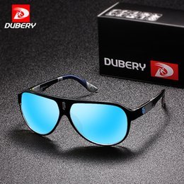 DUBERY 2018 Sport lunettes de soleil polarisées pour hommes lunettes de soleil  lunettes de conduite personnalité miroir couleur designer de marque de luxe  ... 4a3c4bcd80d7