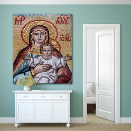 Pinturas a óleo christ on-line-1 Pcs Jesus Cristo HD Canvas Pinturas A Óleo Para A Decoração Da Igreja Sala de estar Parede Cartazes Home Decor Grandes Fotos Sem Moldura