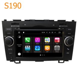 Wholesale Car Dvd Honda Crv - Road Top S190 Android 7.1 System Quad Core CPU 2 Din Car Radio DVD Player GPS Navigation Head Unit Car Computer for Honda CRV CR-V 2007-2011