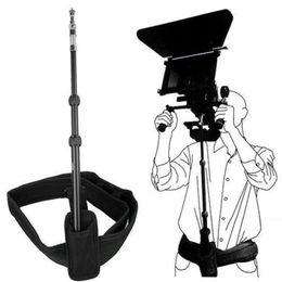 2019 dslr kamera schulter rig unterstützung DSLR Rig Support Rod Gürtel Schulterhalterung Universal Portable Zubehör für Video Camcorder DV / DSLR Stress-Reduzierung günstig dslr kamera schulter rig unterstützung