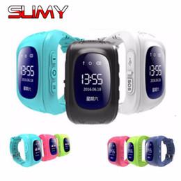 gps android gprs Desconto Slimy q50 gps smart watch baby telefone para crianças criança crianças smartwatch 2g gprs localizador gps tracker anti-lost para ios android