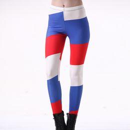 688ce5ce8757c New Sexy Girl Women Leggings Plus Size Femme Pencil Pant Russia France  Netherlands Flag Prints Slim Elastic Fitness Leggings 3204
