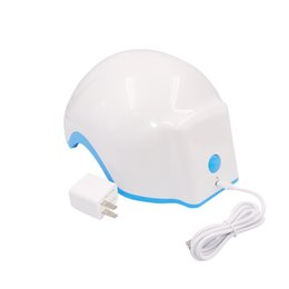hair growth caps Promo Codes - Laser Therapy Hair Growth Helmet Device Laser Treatment Anti Hair Loss Promote Hair Regrowth Laser Cap Massage Equipment