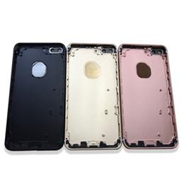 """Canada pour iPhone 7 7g 4.7 """"7 Plus 5.5"""" Boîtier arrière en métal Couvercle arrière Batterie Cadre de porte de remplacement AAA Qualtiy Offre"""