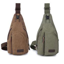 Portable mini randonnée en plein air sac de poitrine chasse sacs tactiques cyclisme sport sac à bandoulière camping voyage packs de toile ? partir de fabricateur