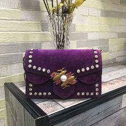 Wholesale Designe Handbags - Top Quality Real Leather Luxury Handbags Women Bags Designe Bags Handbags Women Famous Brands with Dustbag