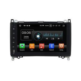 Pantalla mercedes benz online-Reproductor de DVD del coche para Benz B200 2016 9Inch Andriod 6.0 con GPS, control del volante, Bluetooth, radio, 2 GB de RAM