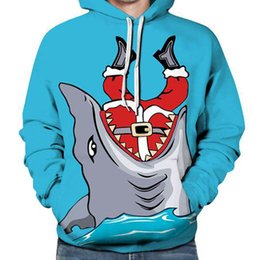 Cartoon Shark Hoodie 3D Men Plus Size Sweatshirt Hip Hop Fantastic Hoody  Pullovers Casual Spring 2018 Hooded Boys Streetwear 971faf338