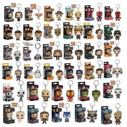 Wholesale action collection - Funko Pop Movies Superhero Superman of Anime Movie Collection Action Figure Model PVC Keychain Novelty Items CCA9593 50pcs