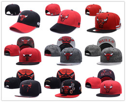 Wholesale Summer Caps For Men - free shipping new style snapback hats black red snakeskin snapback team hats for men football basketball snapback hats men women cap