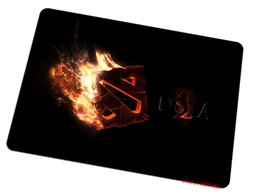 Wholesale Coolest Mouse Pads - Dota 2 mouse pad fire logo mousepads best gaming mouse pad Speed face gamer large personalized pads keyboard cool